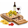 Bamboo Serving Trays / Platters with Handles/Bamboo Food Tray