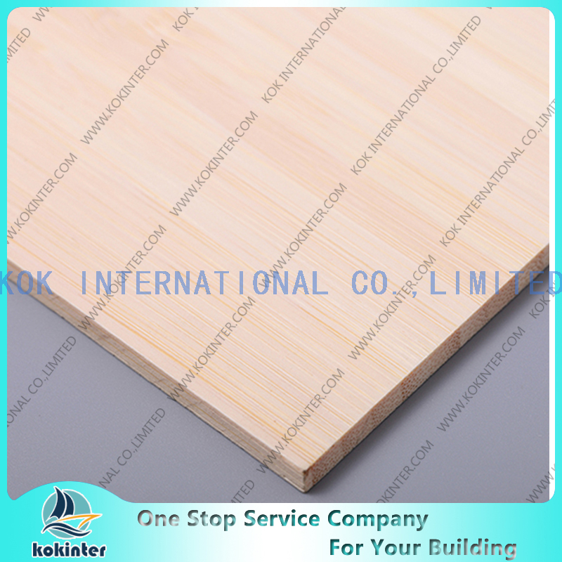 Vertical natural Single Layer Bamboo Panel / Bamboo Board / Bamboo Plank /Bamboo parquet for furniture/ wall decorative / countertop / worktop / cabinets