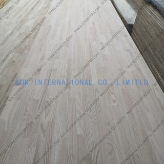 Red oak finger joint board panel for furniture worktop table tops butcher countertops