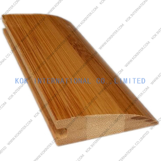 Various bamboo accessories skirting reducer quarter T-molding shreshold stairs.etc